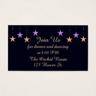 Arabian Nights Reception Cards