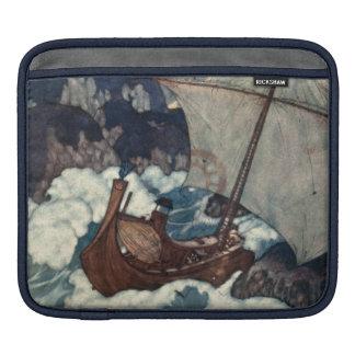 Arabian Nights Sailing Ship iPad Sleeve