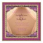 "Arabian Nights Wedding Invitation 5.25"" Square Invitation Card"