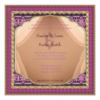 Arabian Nights Wedding Invitation ID192 (<em>$2.31</em>)
