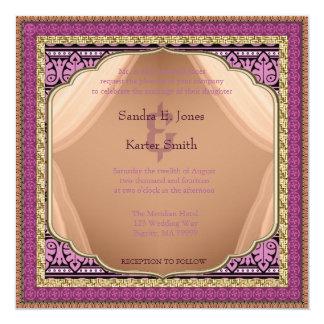 Arabian Nights Wedding Invitation ID192