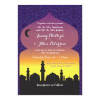 Arabian Nights Wedding Party Moroccan Invitation