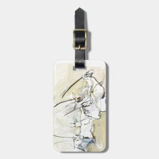 Arabian Oryx 2010  2 Luggage Tag