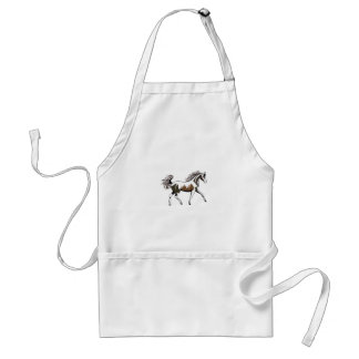 Arabian Outline Adult Apron