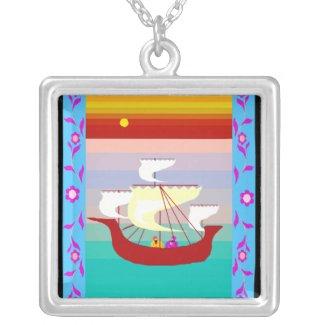 Arabian ship jewelry