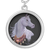 Arabian Show Horse Necklace