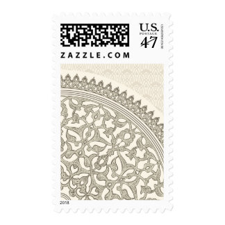 Arabian style lace stamp