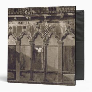 Arabian Windows, In Campo Santa Maria Mater Domini 3 Ring Binder