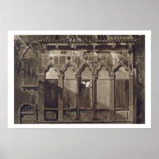 Arabian Windows, In Campo Santa Maria Mater Domini Print