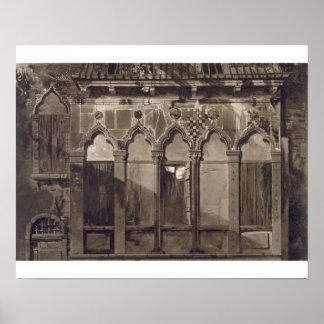 Arabian Windows, In Campo Santa Maria Mater Domini Posters