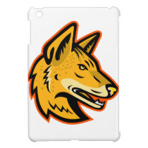 Arabian Wolf Head Mascot Case For The iPad Mini