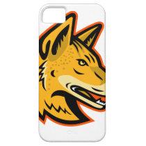 Arabian Wolf Head Mascot iPhone SE/5/5s Case
