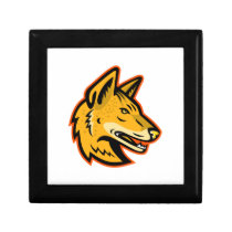 Arabian Wolf Head Mascot Gift Box