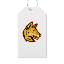 Arabian Wolf Head Mascot Gift Tags