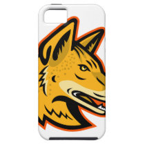 Arabian Wolf Head Mascot iPhone SE/5/5s Case