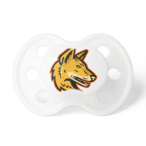 Arabian Wolf Head Mascot Pacifier