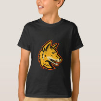 Arabian Wolf Head Mascot T-Shirt