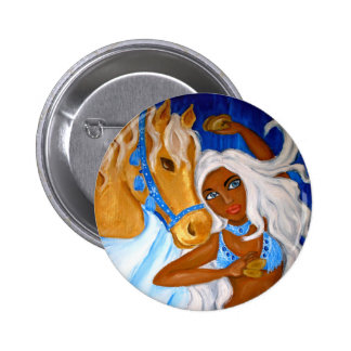 Arabianb Blues Button