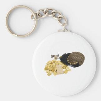 ArabianNightsGold093009 copy Basic Round Button Keychain