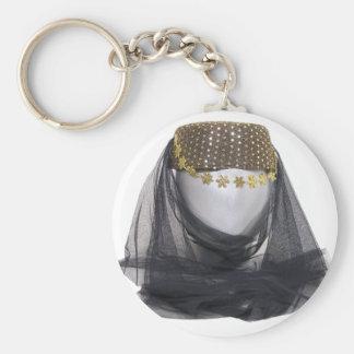 ArabianNightsHeadwearLoose082909 Basic Round Button Keychain