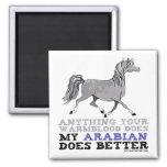 Arabians Do It Better 2 Inch Square Magnet