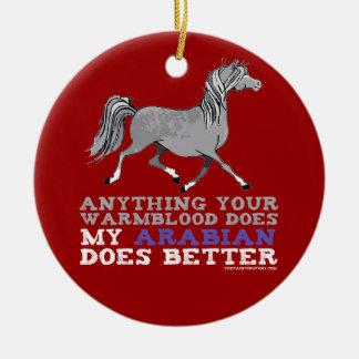 Arabians Do It Better Ornaments