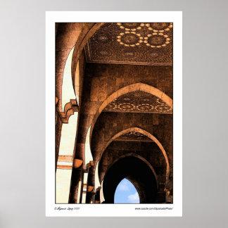 Arabic Architecture Poster