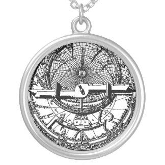 Arabic Astrolabe Necklace