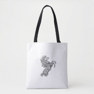 Arabic calligraphy tote bag