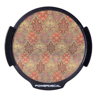 Arabic Carpet Design LED Window Decal