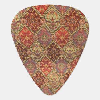 Arabic Carpet Design Guitar Pick