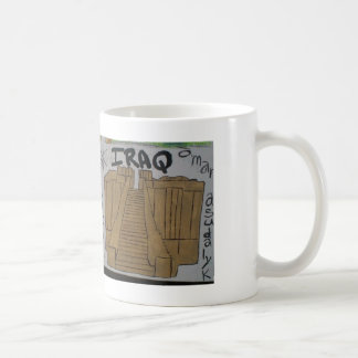 Arabic culture & christian pride art cup classic white coffee mug