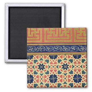 Arabic decorative designs (colour litho) magnet