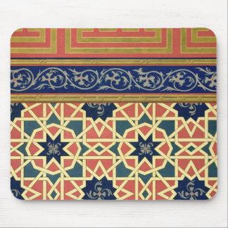 Arabic decorative designs (colour litho) mouse pad