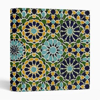 Arabic Design #10 at Emporio Moffa 3 Ring Binder