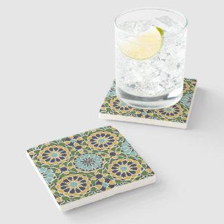 Arabic Design #10 at Emporio Moffa Stone Coaster
