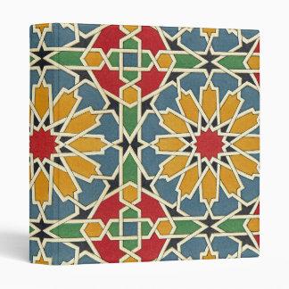 Arabic Design #7 at Emporio Moffa 3 Ring Binders