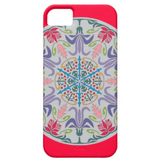 Arabic flower pattern cover iphone 5
