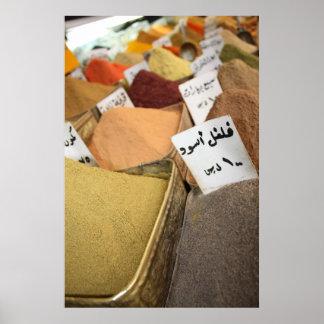 Arabic Herbs Poster