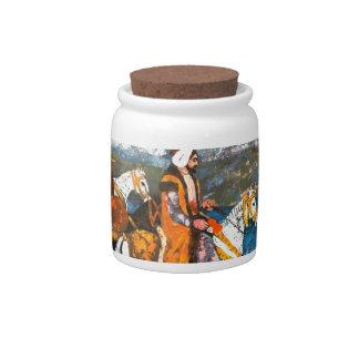Arabic Horseman Candy Dish