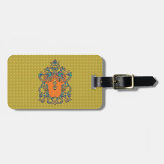 Arabic Ink Novo Morris Collection Travel Bag Tags