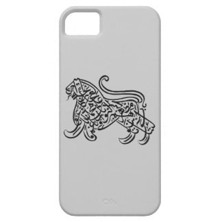 arabic lion calligraphy iPhone SE/5/5s case