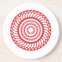 Arabic Mandala Coaster