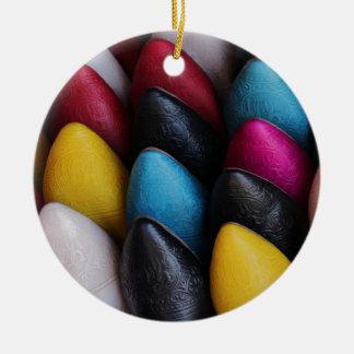 Arabic Shoes Ceramic Ornament