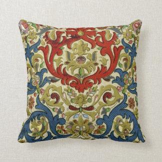 Arabic Style Pattern Throw Pillow