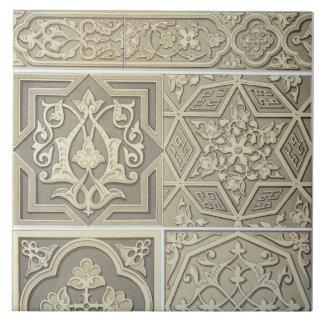 Arabic tile designs (colour litho)