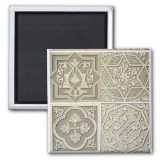 Arabic tile designs (colour litho) magnet