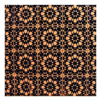 Arabic Tiles Photo Print