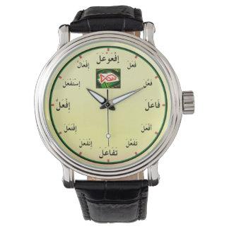 Arabic Verb Forms Wrist Watch