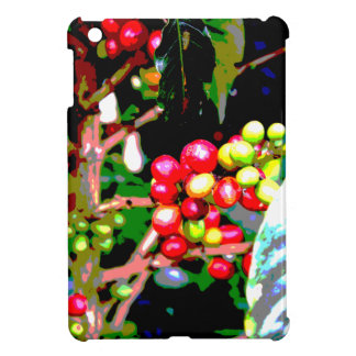 Arabica Coffee Cherries Cover For The iPad Mini